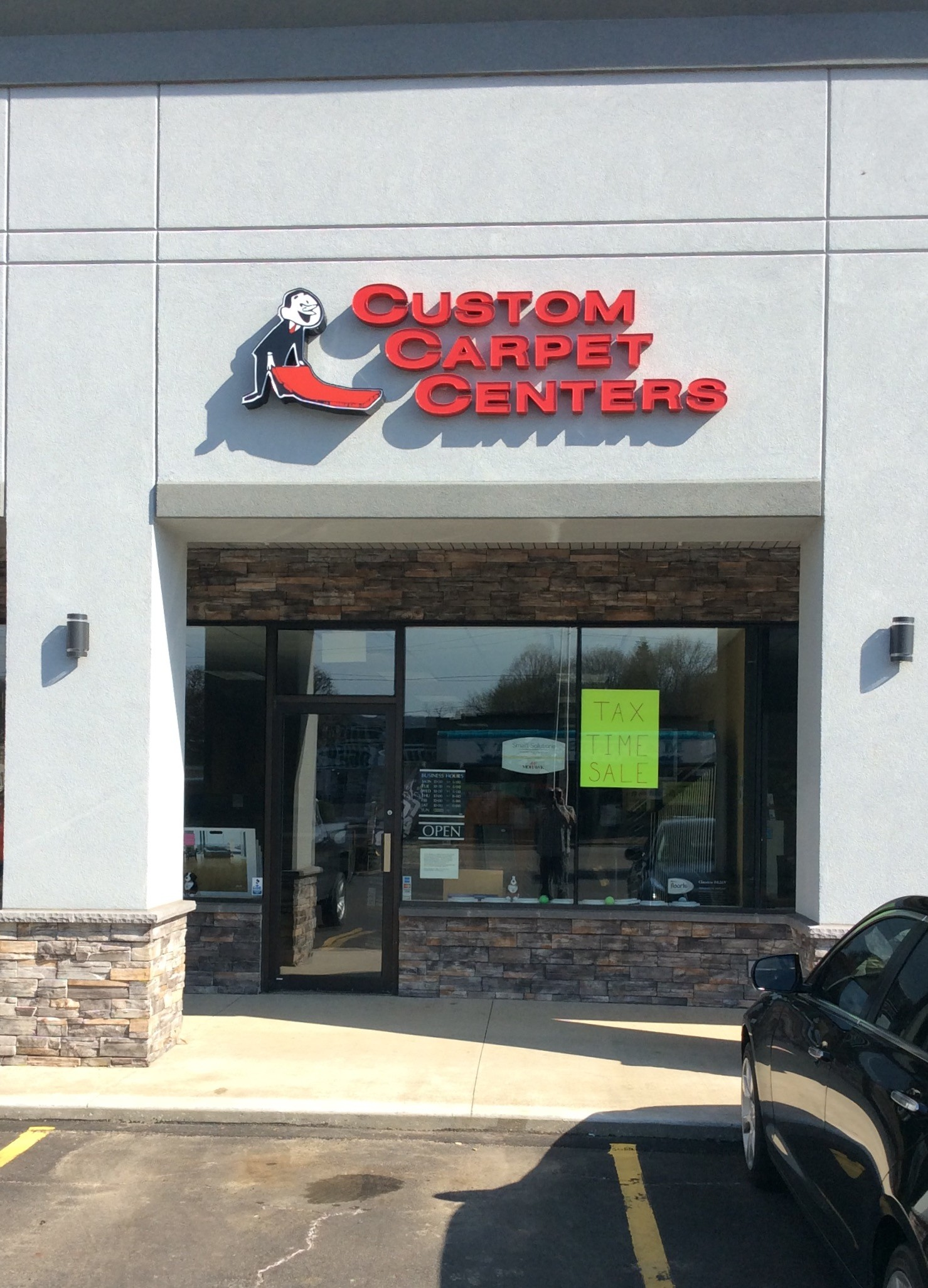 Custom Carpet Centers storefront | Custom Carpet Centers