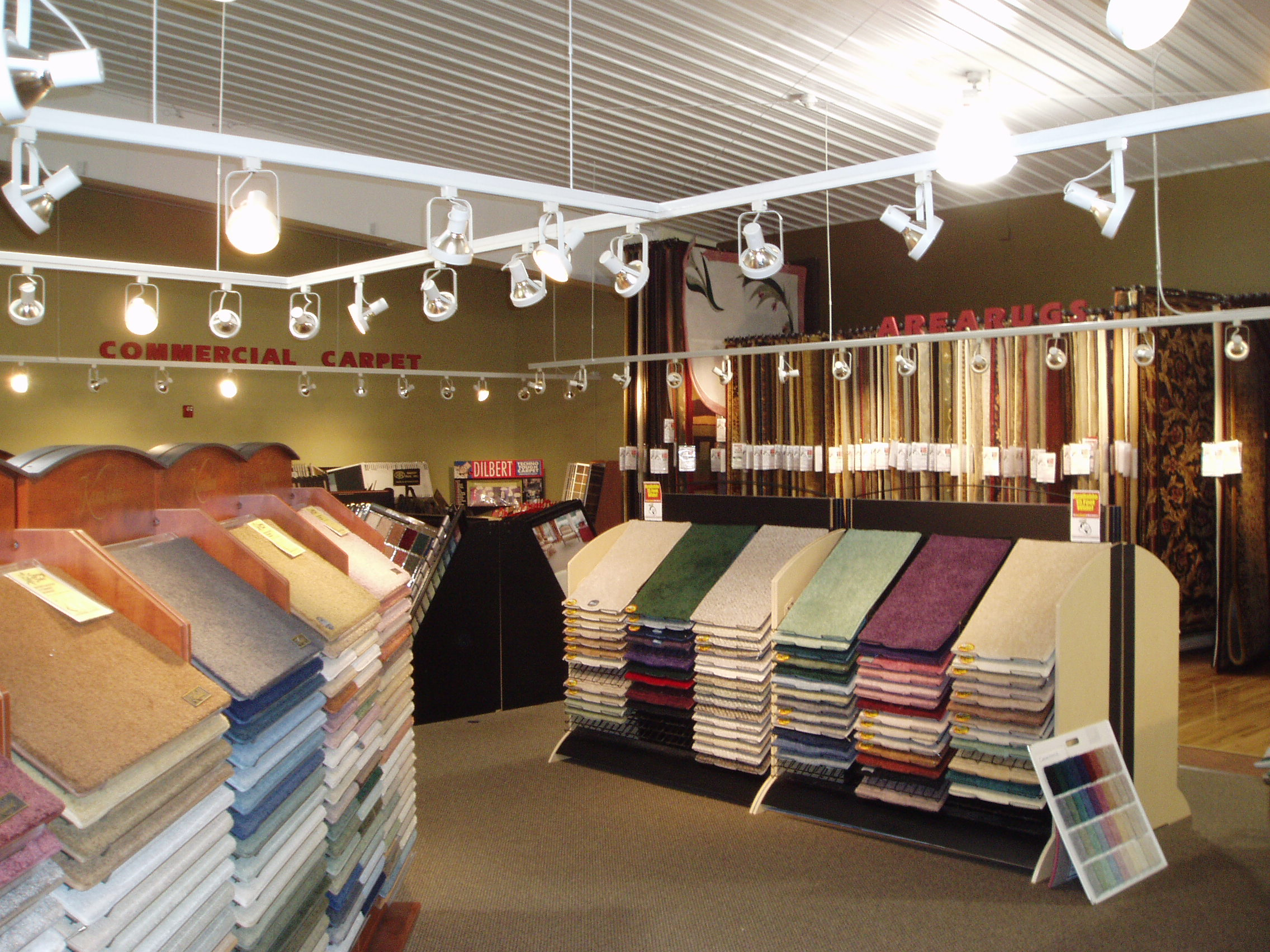 Carpet showroom   Custom Carpet Centers