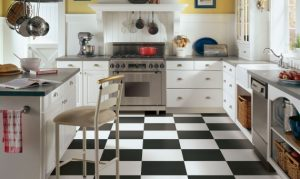 Kitchen view | Custom Carpet Centers
