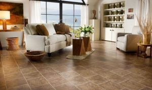 Living Room flooring | Custom Carpet Centers