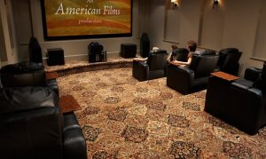 Media room | Custom Carpet Centers