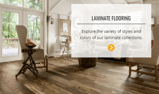 Laminate flooring | Custom Carpet Centers