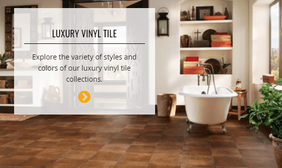 Luxury Vinyl Tile | Custom Carpet Centers