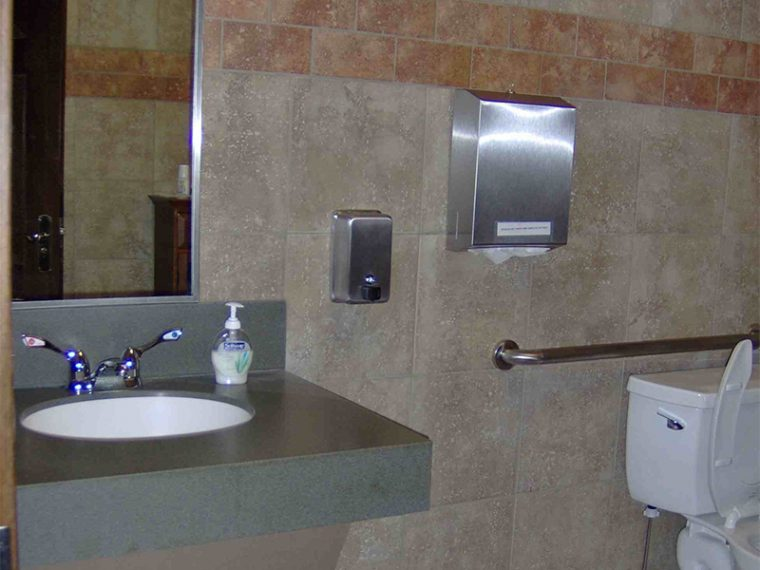 Bathroom Tile wall | Custom Carpet Centers