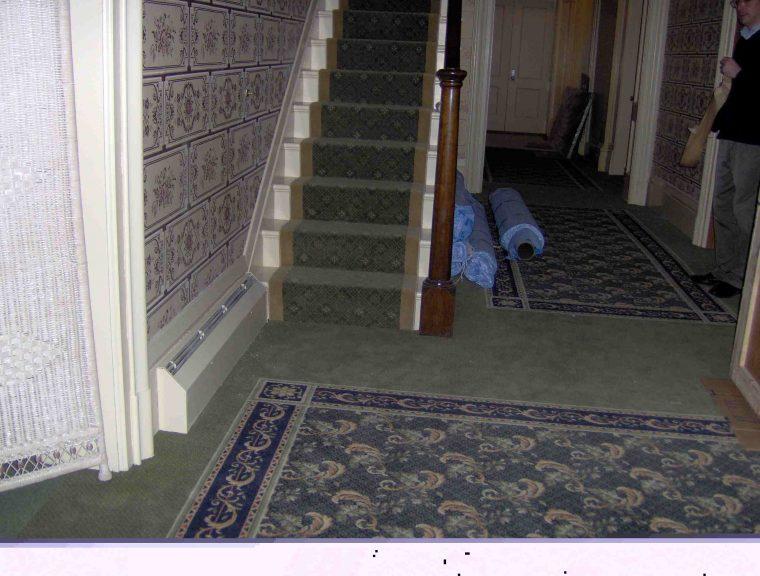 Stairway | Custom Carpet Centers