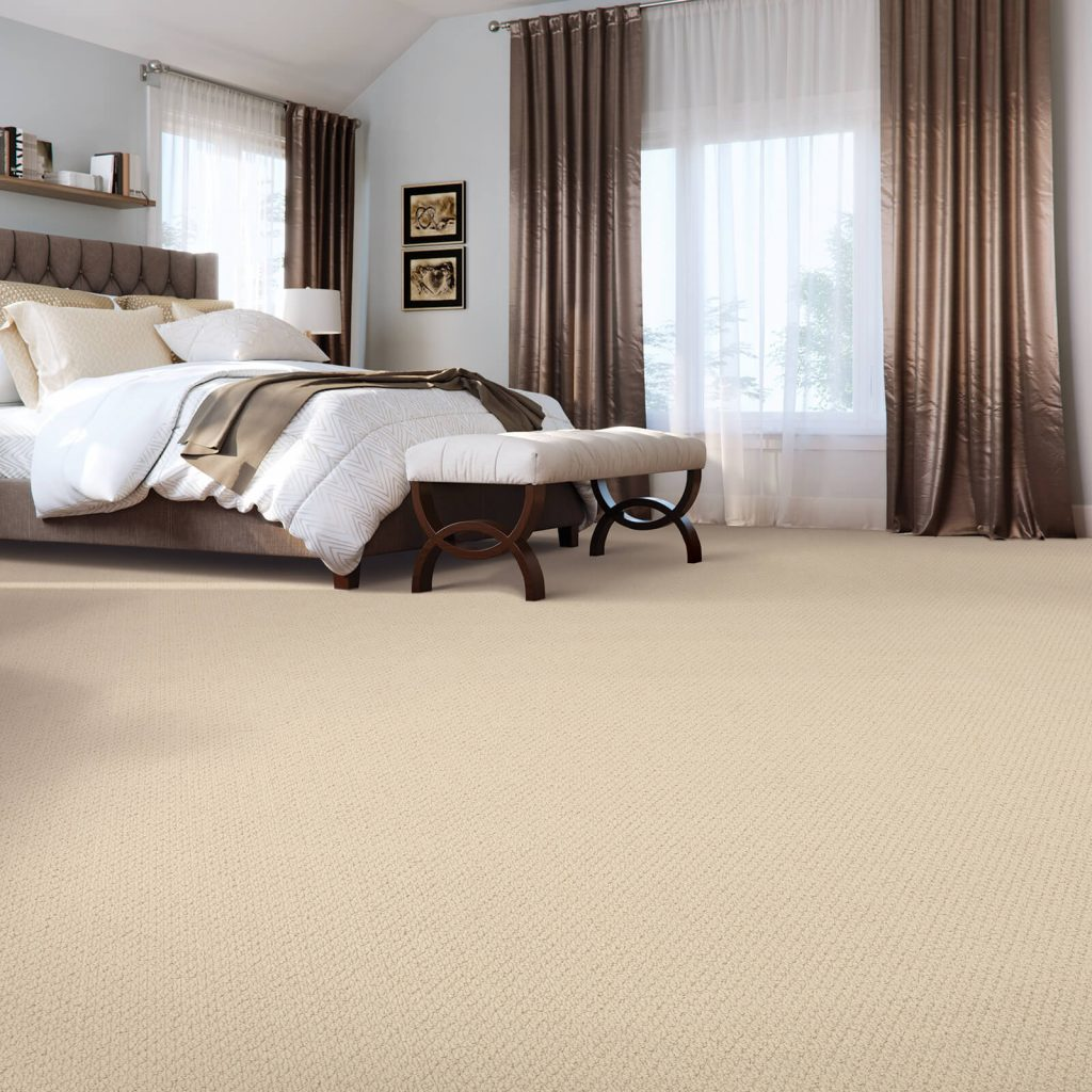 New carpet in Bedroom | Custom Carpet Centers