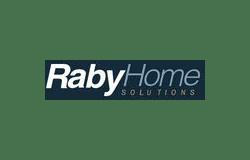 Raby home logo   Custom Carpet Centers